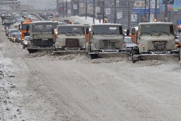 Механизированная уборка снега в тольятти