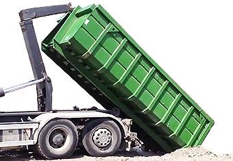 Вывоз мусора контейнером 20 м.куб.