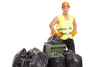 Ручная уборка мусора