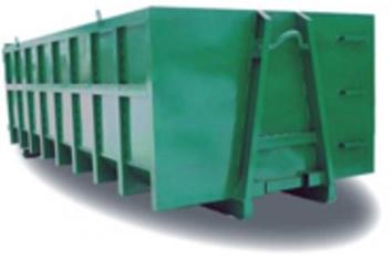 Аренда мусорного контейнера 20 м.куб.