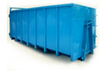 Вывоз мусора контейнером 30 м.куб.
