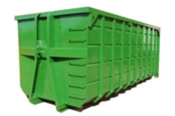 Вывоз мусора контейнером 32 м.куб.